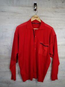 VTG-Paul-amp-Shark-Rot-80s-Sweatshirt-Sweater-Pullover-ref21-gross