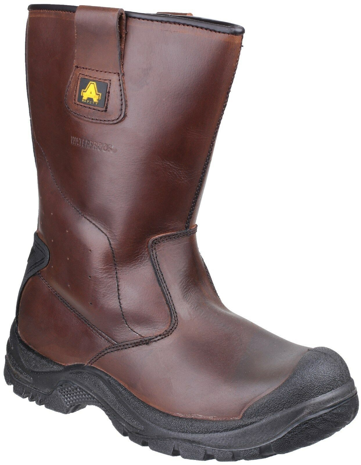 Amblers AS249 Cadair Safety Rigger Boots Mens Waterproof Steel Toe Cap Work shoes