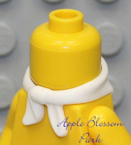 NEW Lego Girl//Boy Minifig WHITE SCARF Cowboy Bandit Minifigure Neck Bandana