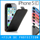 Custodia, Cover, custodia, Cover - iPhone 5C - PELLE - pelle COVER FLIP
