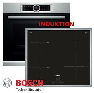 induktion herd set bosch elektro autark backofen silber. Black Bedroom Furniture Sets. Home Design Ideas