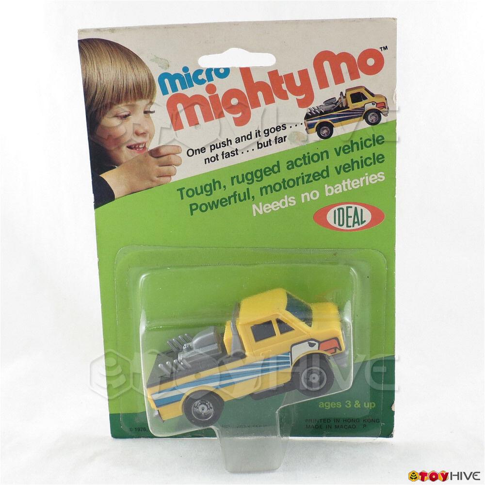 Micro Mighty Mo Highway Hawk Vintage Sellado Tarjeta vehículo 1976 por Ideal