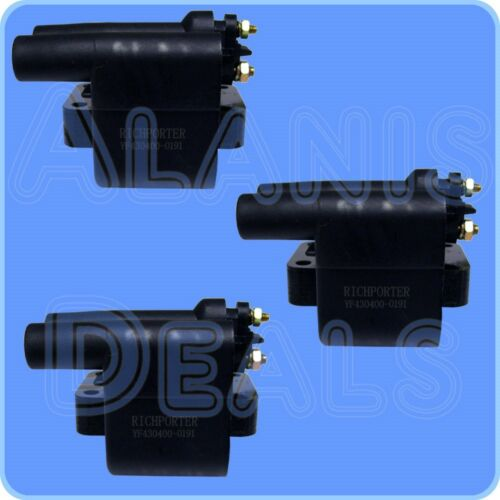Set of 3 Richporter Ignition Coils C574 For Mitsubishi Land Rover Dodge 91-98