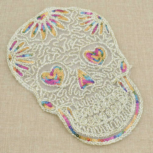 Fashion Patch Sewing Embroidered DIY Sequins Craft for Clothing Decor 1 Pc