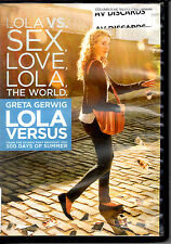 "MAKE OFFER FREE SHIP ""Lola Versus"" DVD Greta Gerwig Zoe Lister-Jones RomCom"