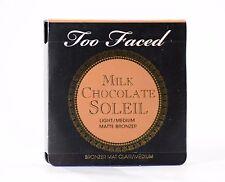 Too Faced CHOCOLATE SOLEIL TRL Light Medium .08 oz Matte Bronzing Powder Bronzer