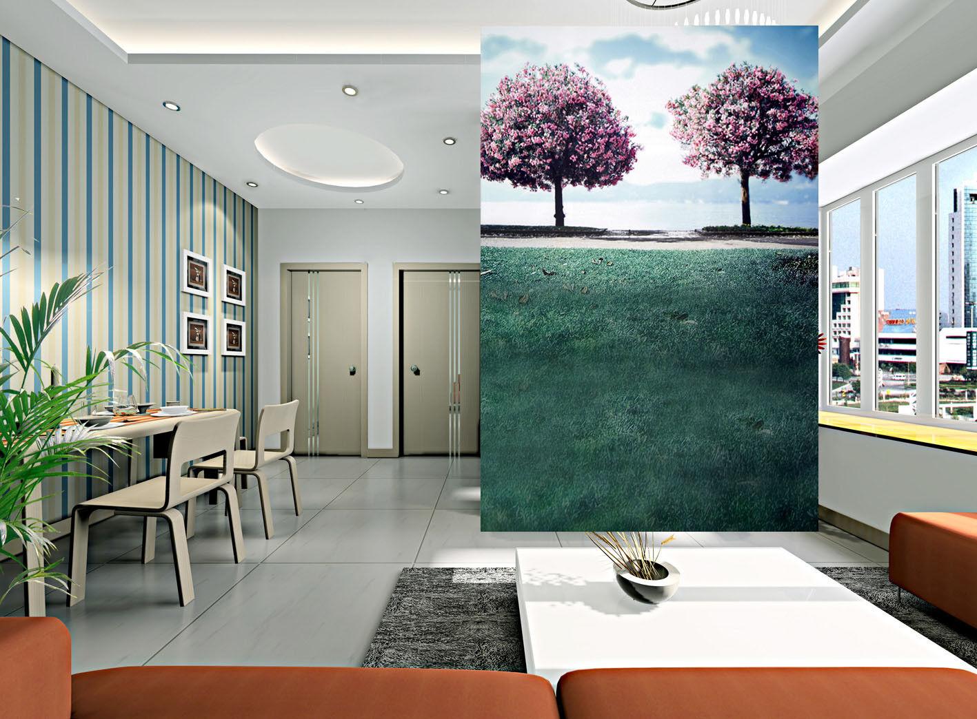 3D Tree Image 4015 Wallpaper Murals Wall Print Wallpaper Mural AJ WALL AU Kyra