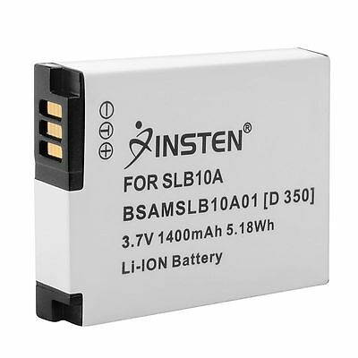 Li-ion Batterie Pour Samsung SLB-10A Digimax L100 L110