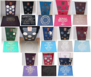Birthday present? Royal Mint proof coin year sets 1970-1982; free UK postage