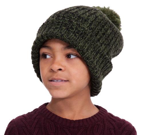 RJM Boys Knitted Pom Pom Hat