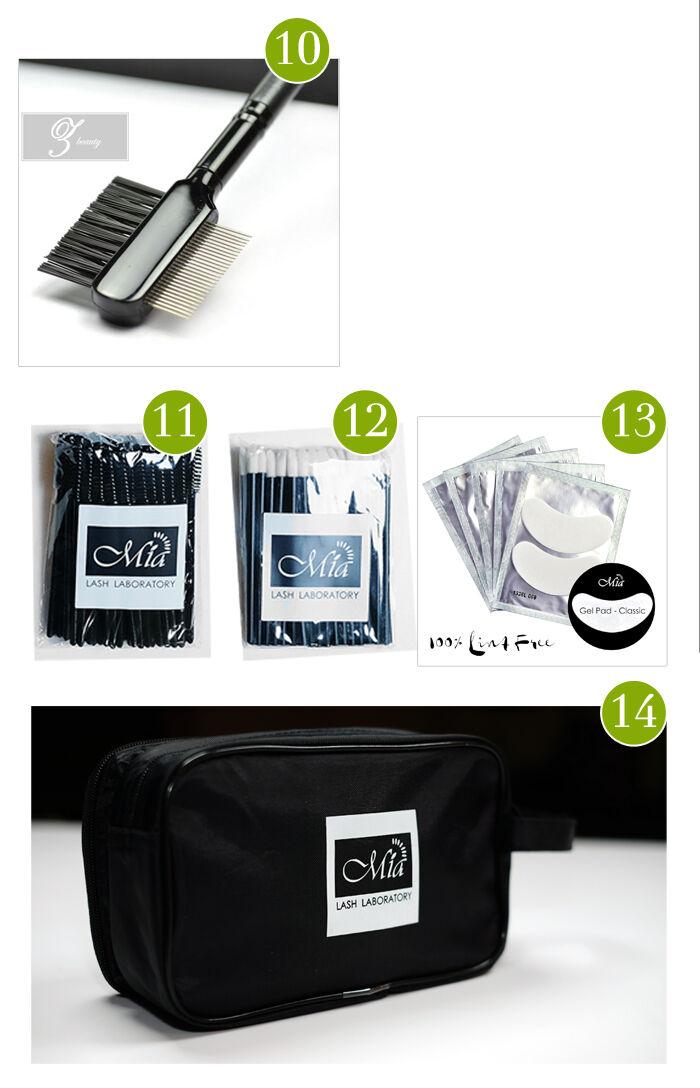 Professional Lash Kit for Eyelash Extension Artist Semi Permanent Beauty Salon 13