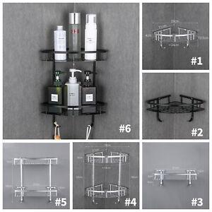 Bathroom-Bath-Shower-Corner-Shelf-Caddy-Rack-Holder-Basket-Wall-Mounted