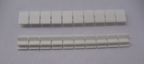 1 Stück Beschriftungsband  für Reihenklemme Zahlen weiß unbedruckt 8,2mm