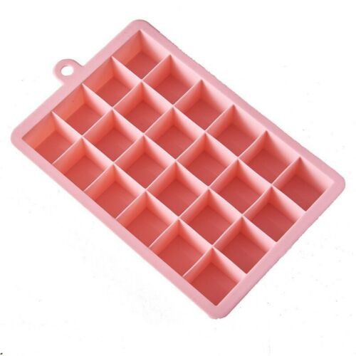 15-Cavity Silicone Square Large Ice Cube Tray Maker Mold Mould Tray Jelly Tool