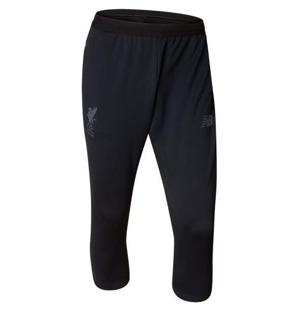New Equilibrar Liverpool  FC 2017 - 2018 3 4 Fútbol Pantalones De Entrenamiento Negro  los últimos modelos