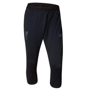 New Balance Liverpool Fc 2017 2018 3 4 Soccer Training Pants Black Ebay