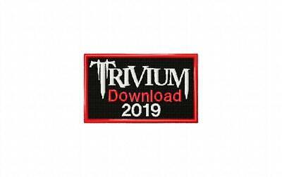 Trivium Download 2019 Souvenir Embroidered Cloth Patch
