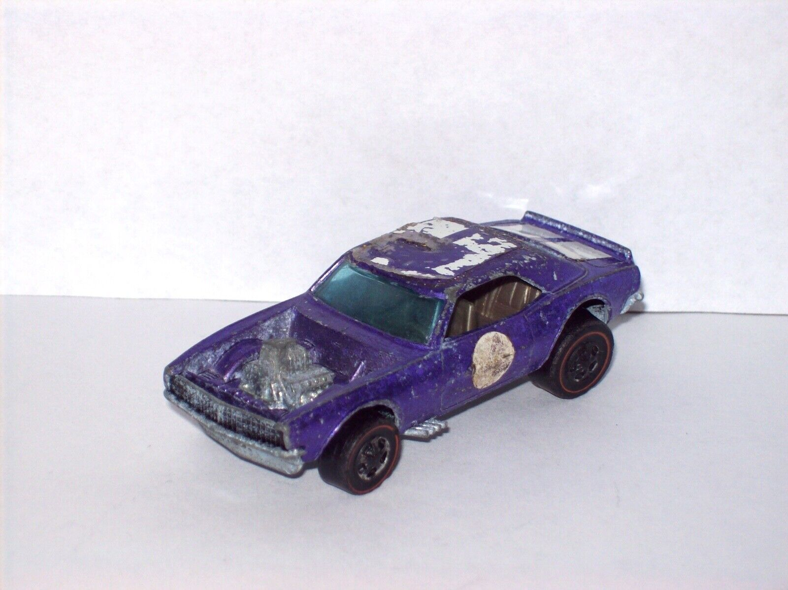 Heavy Chevy 1969 Camaro Purple Redline Hot Wheels Redliner Model Car Muscle Car