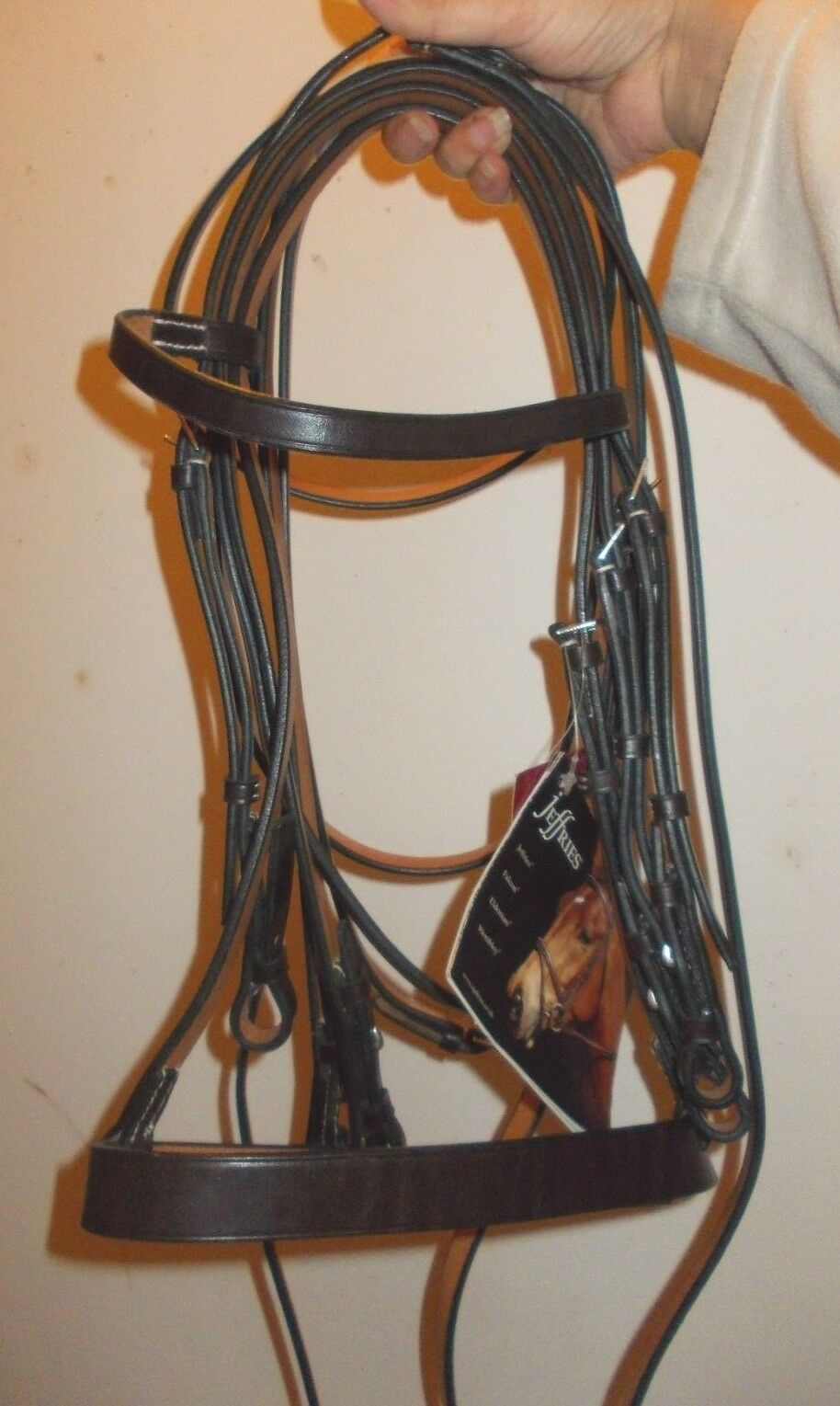 Bnwt jeffries double bridle   reins