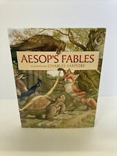 Aesop's Fables by Charles Santore 2010 Hardcover Children's Book Kohls Cares