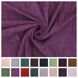034-Chenille-034-Slubbed-Shabby-Worn-Look-Curtain-Cushion-Sofa-Upholstery-Fabric