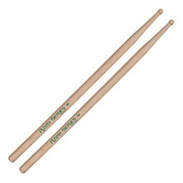 1 Pair Regal Tip Road Series 5B Nylon Tip Drum Sticks (choice of 5B or 5B wide)