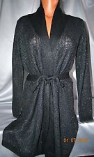 Victorias Secret Kiss of Cashmere Sequins Waffle Robe NWT L