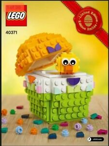Lego-Customizable-Easter-Egg-with-Chick-40371-New-Sealed-Promotional-Item