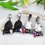 Elegant-Women-Rhinestone-Resin-Water-Drop-Ear-Stud-Eardrop-Dangle-Earring-Gift thumbnail 1