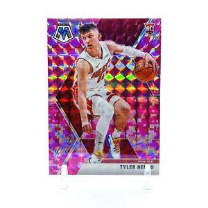 2019-Panini-Mosaic-Tyler-Herro-Pink-Camo-Prizm-Rookie-Card-223-Heat-RC