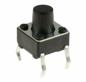 10-x-6x6x7mm-Momentary-Mini-Push-Button-Tactile-Switch-PCB-Mounted-SPST