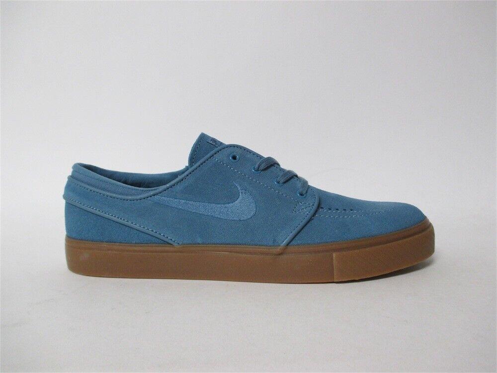 Nike SB Zoom Stefan Janoski  Noise Aqua bluee Gum Sz 9 333824-420