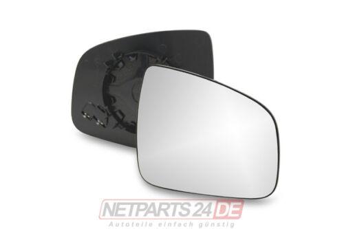 Außenspiegel Seitenspiegel-Glas rechts beheizbar Dacia Sandero ab 08 ab Lager