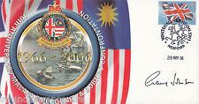 "40th Anniv Malaya & Borneo Scott Military ""Special"" - Signed Gen GARY JOHNSON"