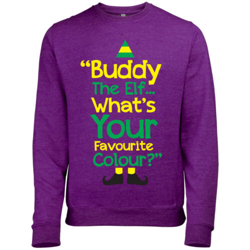 Unofficial buddy the elf whats your favourite couleur homme fun sweat