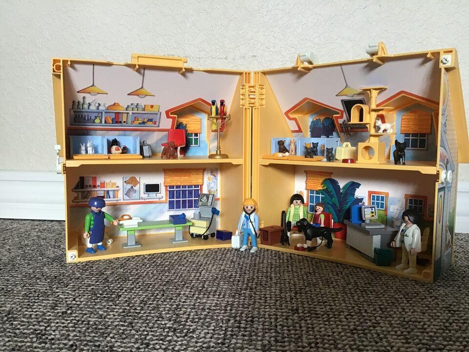 Dyrehospital, Playmobil