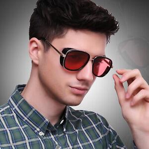 Tony-Stark-Vintage-Sunglasses-Avengers-Iron-Men-Fashion-Square-Steampunk-Goggles