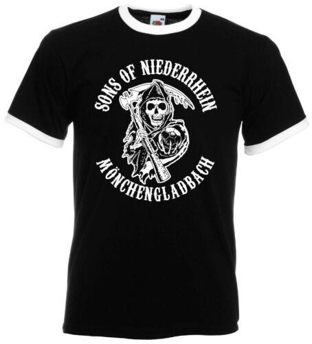Sons of Niederrhein Mönchengladbach Caleçon Hommes Rétro Ultras