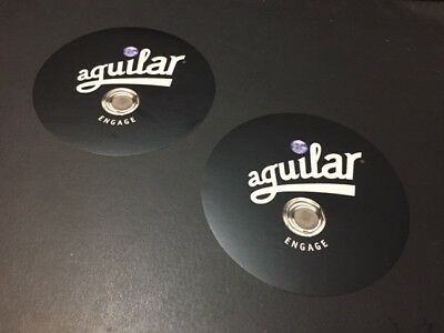 """Aguilar Bass Amps /""""ENGAGE/"""" 2pc stickers"""