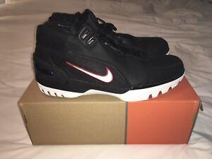 1b6608342af2 Original 2004 Nike Lebron Zoom Generation 1 Black White-Varsity ...