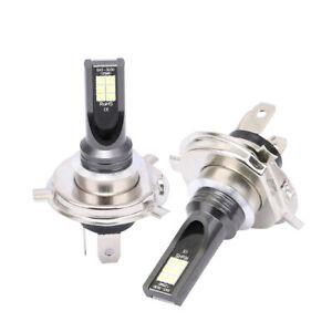 H4-Hi-Lo-LED-Phare-Ampoule-Voiture-30000LM-Feux-Remplacer-Xenon-Lampe-6000K-2x