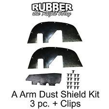 1996 1997 1998 1999 2000 Chevy GMC Truck A Arm Dust Shields K Series 1/2-3/4 Ton