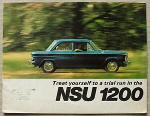 NSU-1200-C-Car-Sales-Brochure-1969-70-VF-2119-610-10825