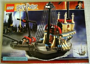 Lego 4768 Instruction Manual Harry Potter Durmstrang Ship Superior Condition Ebay Delegations from durmstrang and beauxbatons arrive at hogwarts for the triwizard tournament. ebay