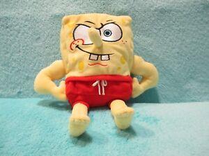 "2006 Ty Beanie Babies Spongebob Squarepants - Musclebob Buffpants Soft Toy 8"""