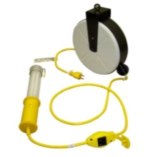 GENERAL Manufacturing 3613-4001 Stubby II lumière fluorescente avec 40/' Cordon reel