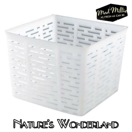 CHEESE MOULD for FETA or TALEGGIO - SQUARE create Greek Brined Curd - Mad Millie