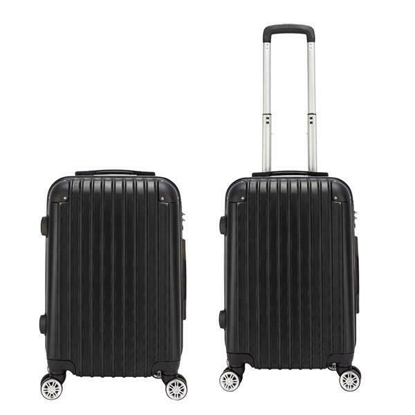 20 Inch Luggage Waterproof Spinner Travel Business Suitcase