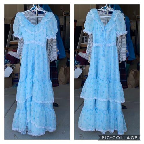 Vintage Dance Allure Cottagecore Maxi Dress