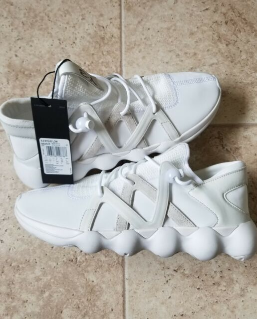 247ee0ada00bd New Adidas Y-3 Men s Kyujo Low Sneakers S82125 FTW White Crystal White Size